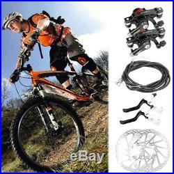 G3 Mechanical Bike Disc Brake Set Front & Rear Caliper 160mm Rotor Bicycle MTB