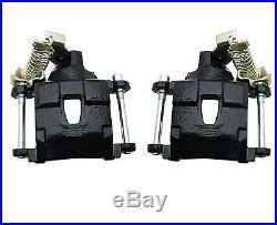GM 10 / 12 Bolt Rear Disc Brake Kit with Black Calipers, Chevelle, Skylark, Malibu