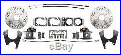 GM & Chevy 10 /12 Bolt Rear End Performance Disc Brake Kit Non-Staggered