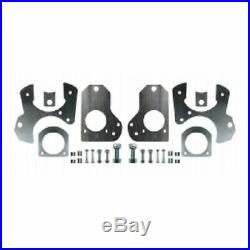 GM G-Body Rear Disc Brake Conversion Kit Drilled & Slotted Rotors 78-88