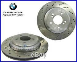 Genuine BMW Rear Brake Discs BMW M3 E46 (Pair)
