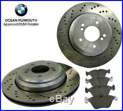 Genuine BMW Rear Brake Discs, Pads & Sensor BMW M3 E46
