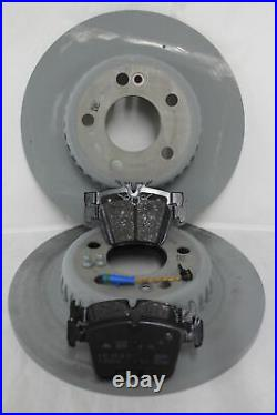 Genuine Mercedes-Benz W205 C-Class AMG FRONT & REAR Discs & Pads Kit NEW