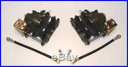 Gm Rear Disc Brake Conversion Ebrake Calipers With Rear Brake Hoses
