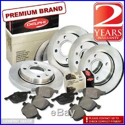 Honda Civic 1.4 1.8 2.2 2006-2011 Front and Rear Brake Discs and Pads 282mm Ø