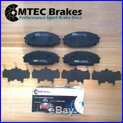 Honda Civic Type R FN2 MTEC Front Rear Drilled Brake Discs & MTEC Pads