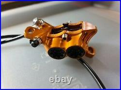 Hope Tech 3 E4 Disc Brake Standard Orange