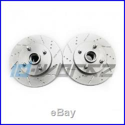 ID-Workz Grooved Dimpled Rear Brake Discs for Toyota Starlet GT Turbo Glanza V