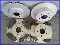 J10 Nissan Qashqai Front And Rear Brake Discs & Pads New Coated Design(5 Seater)