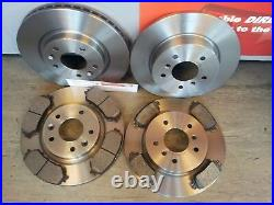 J11 Nissan Qashqai Front & Rear Brake Discs And Pads 2013-2018 1.2 1.5 1.6