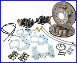 JEGS Performance Products 630603 Ford 9 Rear Disc Conversion Kit Premium