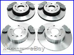 Landrover Discovery 2.5 Td5 1998-2004 Front & Rear Brake Discs And Pads Set New