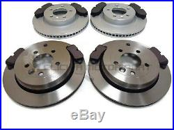 Landrover Discovery 3 2.7 Td V6 Front And Rear Brake Discs And Pads Set New