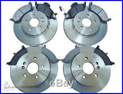 MERCEDES M-CLASS ML270 CDi W163 99-05 FRONT & REAR BRAKE DISCS & PADS CHECK SIZE