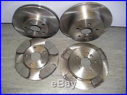 MK2 TOYOTA RAV4 FRONT AND REAR BRAKE DISCS AND PADS 2.0 D4D 1.8 VVTi (2000-2006)