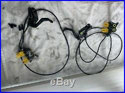 Magura MT7 Next Hydraulic Disc Brakes Front and Rear Used