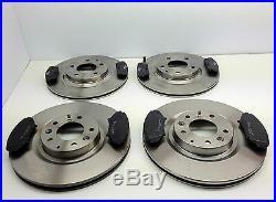 Mazda Rx8 Front & Rear Brake Discs And Brake Pads 2003-2011