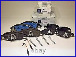 Mercedes Front&Rear Brake Pads With Sensors For C250 C300 C350 E550 E350 GENUINE