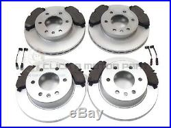 Mercedes Sprinter 2006-2016 Front And Rear Brake Discs & Pads Set + Wire Sensors