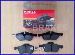 Mini Cooper S Performance Brake Discs Front Rear & Mintex Pads 02-06