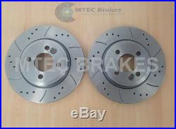 Mini Cooper S Performance Brake Discs Front Rear & Pads