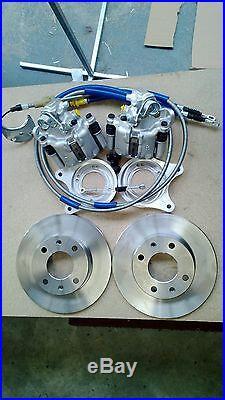 Mk1 Mk2 Escort 13 English axle rear disc brake conversion kit (less calipers)
