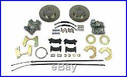 Mopar 8-3/4 Dana 60 rear disc brake conversion braided flex hoses parking brake