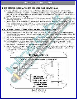 Mopar 8 3/4 or Dana 60 Rear Axle End Disc Brake Conversion Kit A, B, E Body NO P