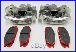 Nissan Patrol Gq Y60 Rear Disc Brake Caliper Set Pair Lh & Rh With Pads 1988-97