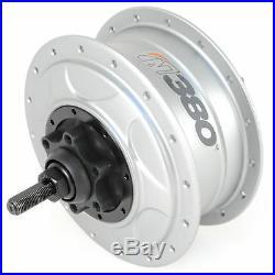 NuVinci N380 CVP Internal Gear Bicycle Rear Hub Silver 32h Disc Brake // New C8
