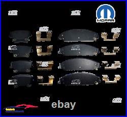 OEM Front & Rear MOPAR Ceramic Brake Pads Set for Dodge Chrysler 300 CHALLENGER