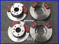 RANGE ROVER P38 Front and Rear Brake Discs and EBC Pad Kit