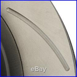 REAR DRILLED GROOVED 296mm BRAKE DISCS FOR NISSAN SKYLINE R33 2.5 GTST 93-98