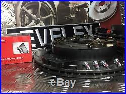 Range Rover Sport 3.6tdv8 Brembo Drilled Grooved Brake Discs & Brembo Pads Rear
