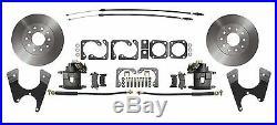 Rear Disc Brake Conversion Kit for Standard GM 10 12 Bolt Rear End, Std Rotors