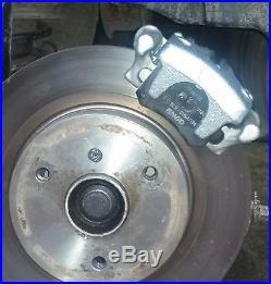 Rear Disc Brake Kit for Smart Roadster + ForTwo 450 & 451 upgrade standard drums
