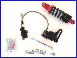 Rear Swingarm Shock 10 Wheel Tire Disc Brake Kit Coolster Pit Dirt Bike V Re05