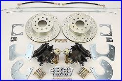 Right Stuff ZDCDS05 Ford 9 Rear Disc Brake Conversion Kit