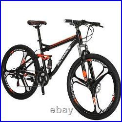 S7 Full Suspension Mountain Bike 21 Speed Mens Bikes Disc Brake 27.5 bicycle