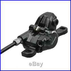 SHIMANO BR-BL-M315 Hydraulic Disc Brake Set Front and Rear Black