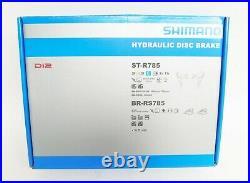 Shimano Road STI Di2 2x11 Hydraulic Disc Brake/Shift Lever Set ST-R785/BR-RS785