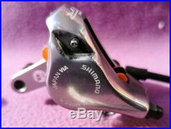 Shimano XTR M966/m966 disc brakes set pair front rear and gear shifter pods hope