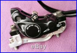 Shimano XT/XTR M785/m985 disc brakes set pair front rear 203mm rotors