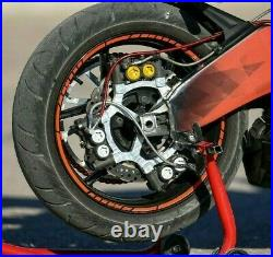 Stunt Brake Caliper Bracket + Rotor Disc Kawasaki Ninja ZX6-R 636 2005-2020+