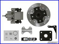 SuperATV Rear Disc Brake Kit for Honda Utility ATV Must Have Rear Drum Brakes