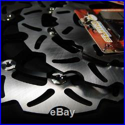 Suzuki F+R Brake Disc Rotor + Pads GSXR 600 & GSXR 750 04-05 GSX-R 1000 2004