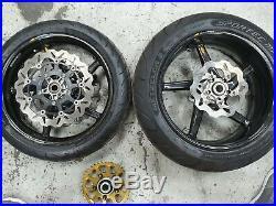 Suzuki GSXR 1000 K5 BST Carbon Front & Rear Wheels with Brake Discs B25-15