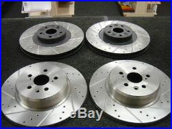 Toyota Celica Gt4 St205 Brake Discs Front Rear Drilled Grooved