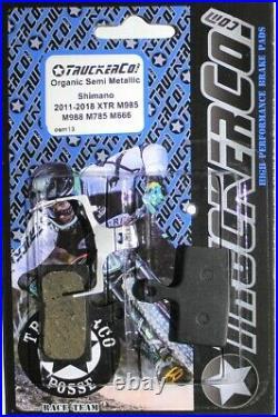 TruckerCo Organic Disc Brake Pads for shimano XTR XT Doere SLX BR m8000 osm13