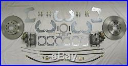Universal Ford 8.8 & 9 Standard Rear Disc Brake Conversion Kit Torino Mustang
